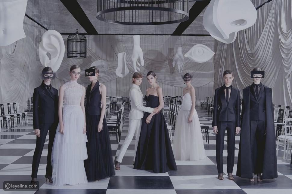 مجموعة أزياء ديور هوت كوتور لموسم ربيع 2018 مستلهمة من ليونور فيني