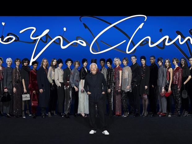 مجموعة أزياء جورجيو أرماني ما قبل الخريف 2020 -2021 في ميلان