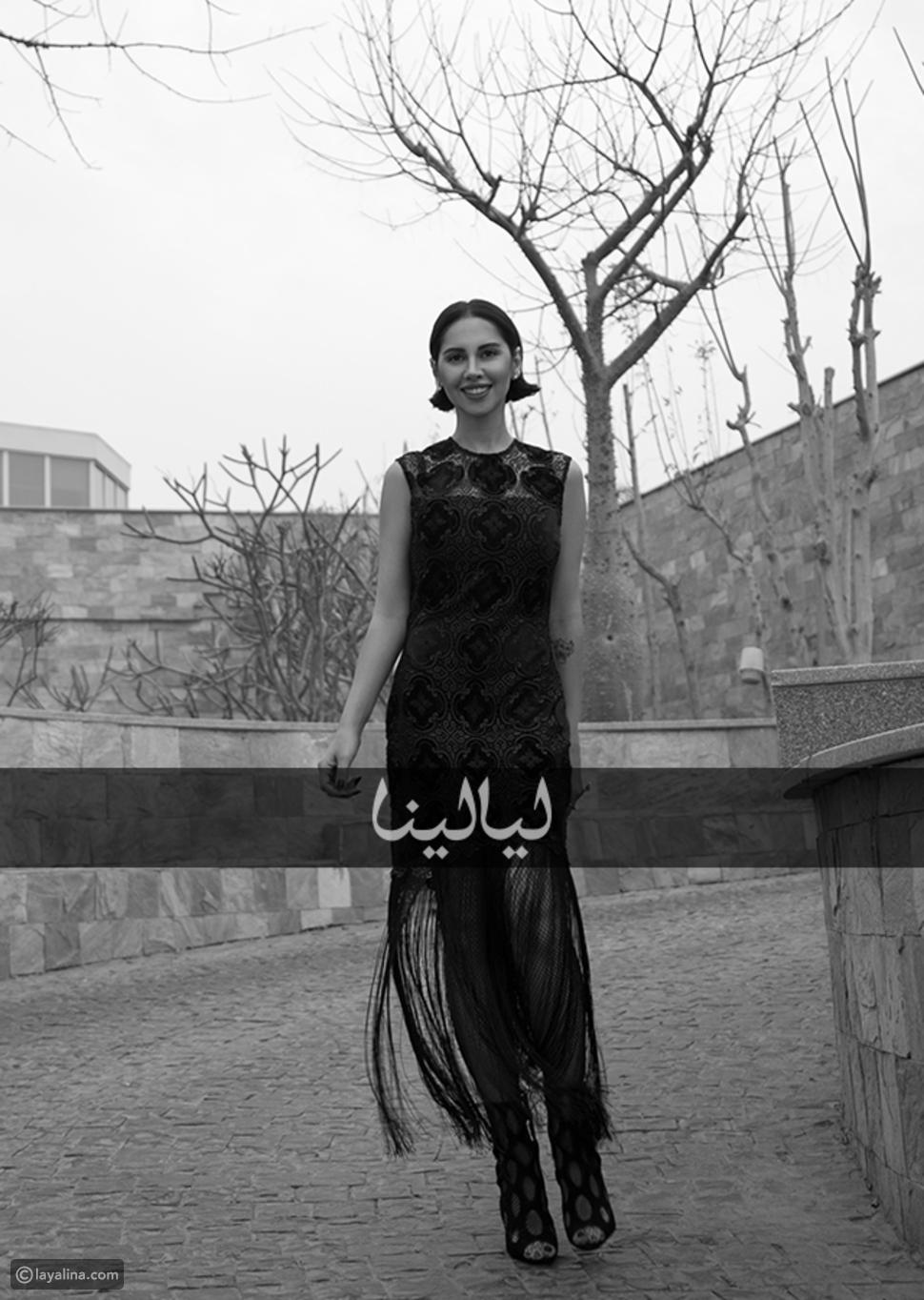 ياسمين رئيس في جلسة تصوير ليالينا