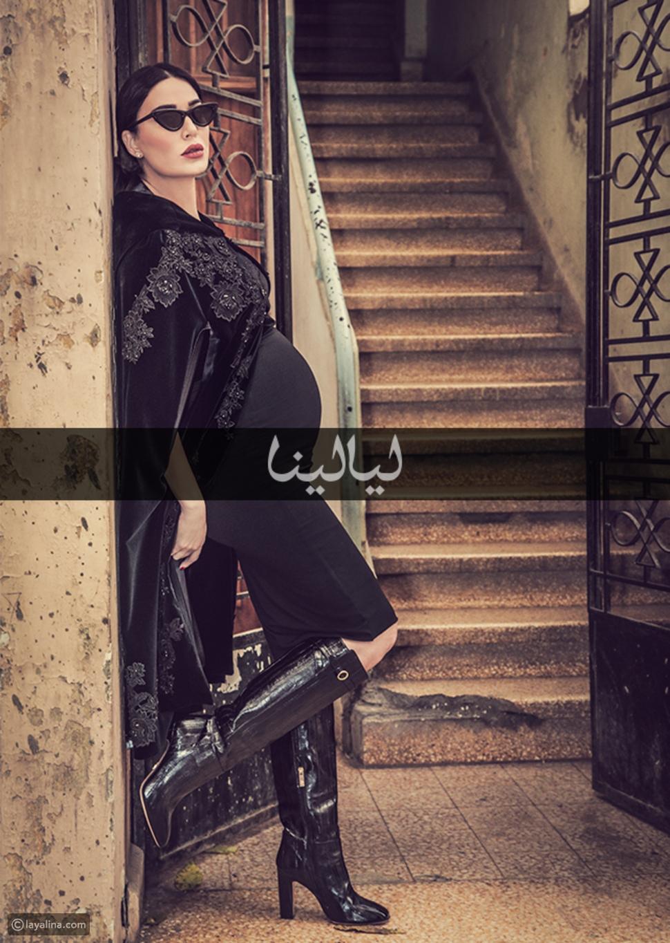 سيرين عبد النور نجمة غلاف مجلة ليالينا في شهر يناير