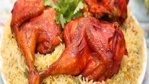 بالفيديو طريقة تحضير مندي الدجاج