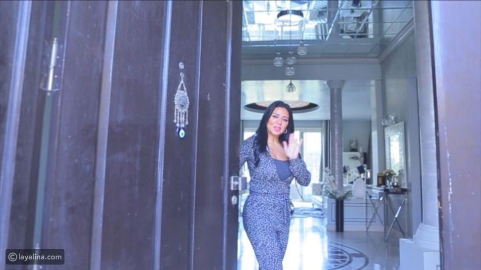 جولة بمنزل رانيا يوسف تكشف فخامة ديكوره وأثاثه