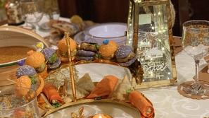 طريقة تنسيق ديكور سفرة رمضان بأنامل الشيف نسرين أبو زيتونة