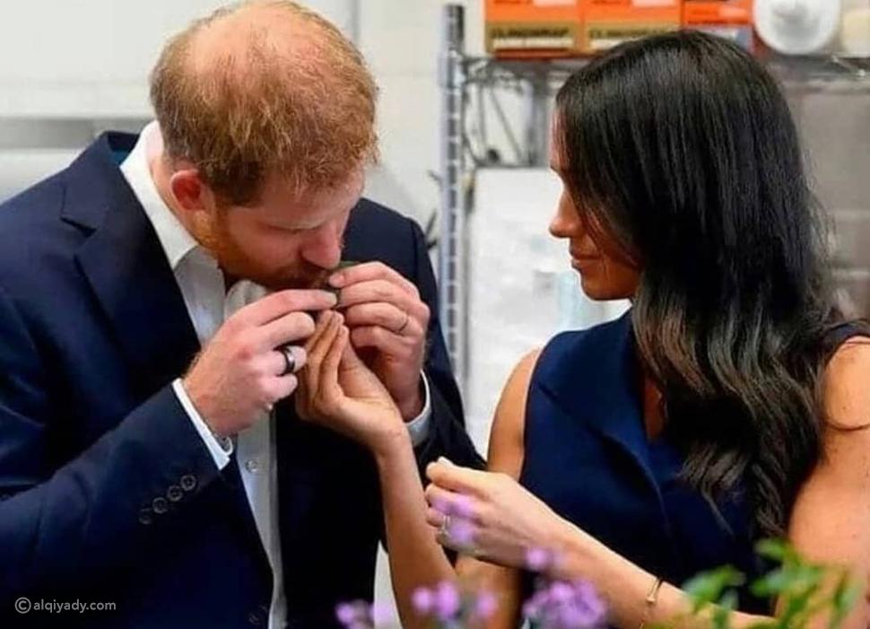 الأمير هاري Prince Harry وميغان ماركل Meghan Markle