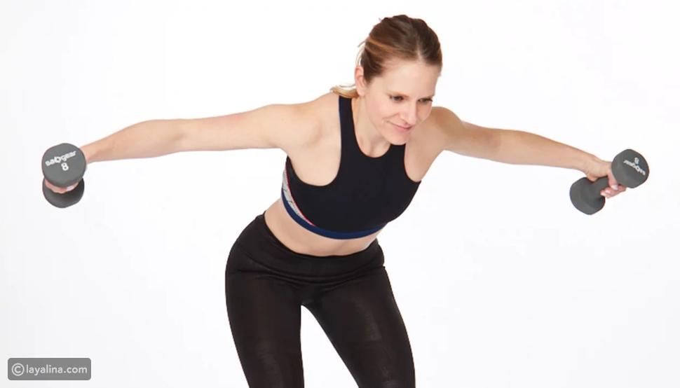 تمارين لشد الظهر وتقوية عضلاته