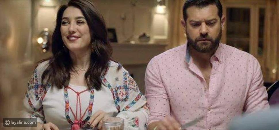 عمرو يوسف وكندة علوش في إعلان رمضان لإحدى شركات الاتصالات