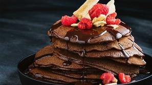 طريقة البان كيك بالشوكولاتة