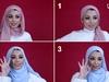 اكتشفي طرق تطبيق لفات حجاب بدون دبابيس لتظل ثابتة وأنيقة طوال اليوم