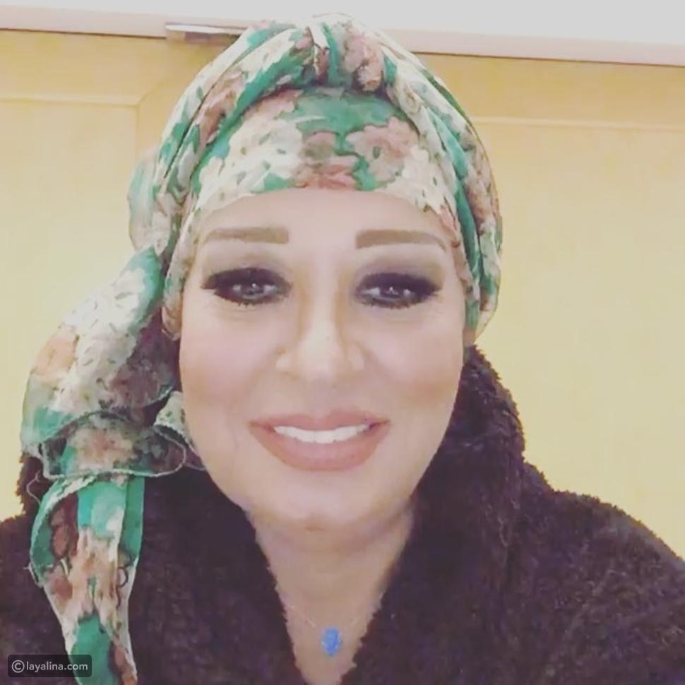 فيديو ضجة بسبب تصرف فيفي عبده أثناء تهئنتها للسعوديين في يومهم الوطني