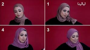 لفات حجاب عمل بأربع طرق مختلفة لكي تتألقي كل يوم بشكل مذهل ومختلف