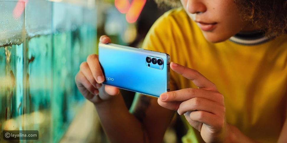 """بالفيديو: """"رينو4 برو 5G"""" مواصفات جديدة كلياً"""