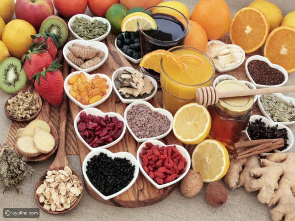 أطعمة تقاوم نزلات البرد