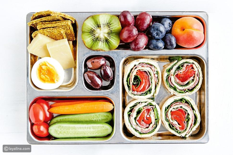 طريقة صحية لتحضير حقيبة طعام طفلك المدرسية