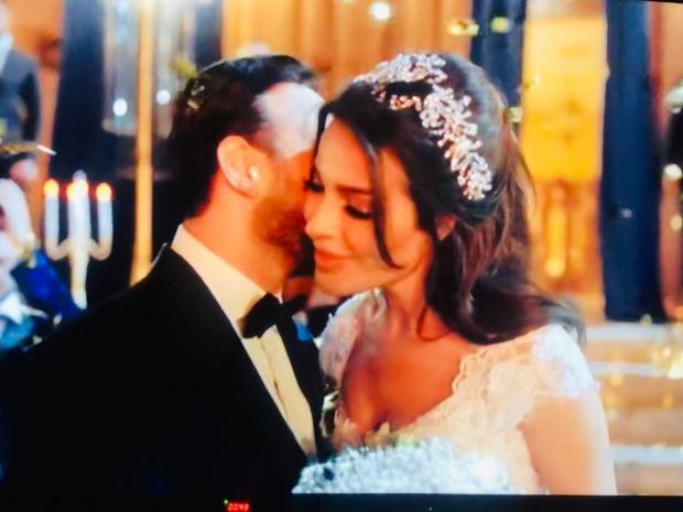 لقطة ثانية من مشهد الزفاف في