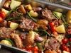 ستيك بصلصة الفطر Steak with Mushroom sauce