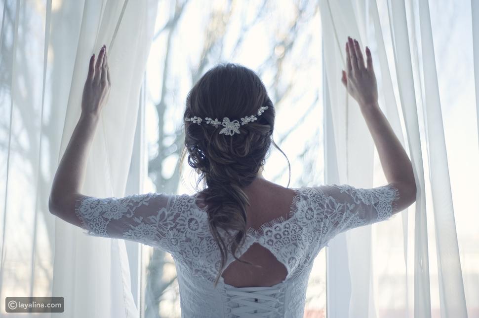 التسريحة الثانية لضفائر الشعر لعروس 2020